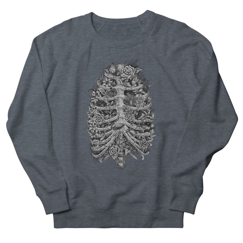 I can't breathe without you Women's French Terry Sweatshirt by Eugenia Hauss's | Exiled Beauty
