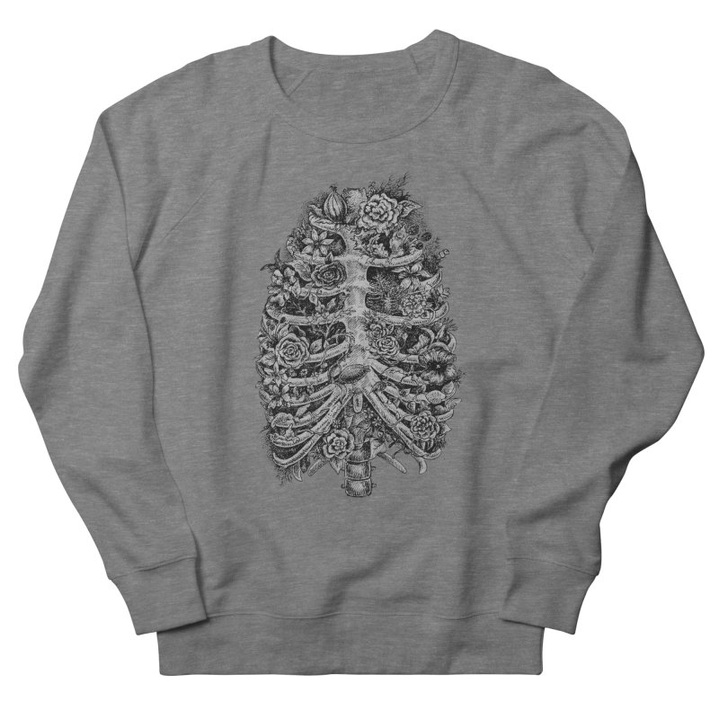 I can't breathe without you Men's French Terry Sweatshirt by Eugenia Hauss's   Exiled Beauty