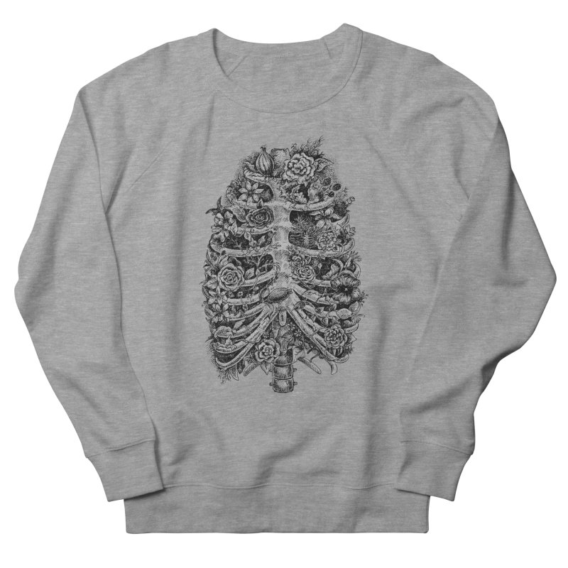 I can't breathe without you Men's French Terry Sweatshirt by Eugenia Hauss's | Exiled Beauty