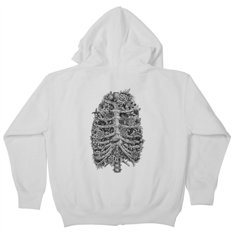 I can't breathe without you Kids Zip-Up Hoody by Eugenia Hauss's | Exiled Beauty