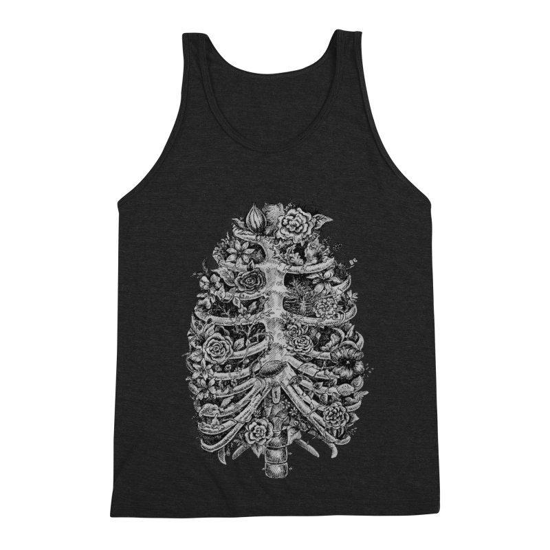 I can't breathe without you Men's Triblend Tank by Eugenia Hauss's | Exiled Beauty