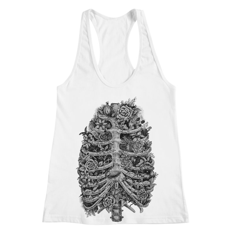 I can't breathe without you Women's Racerback Tank by Eugenia Hauss's | Exiled Beauty