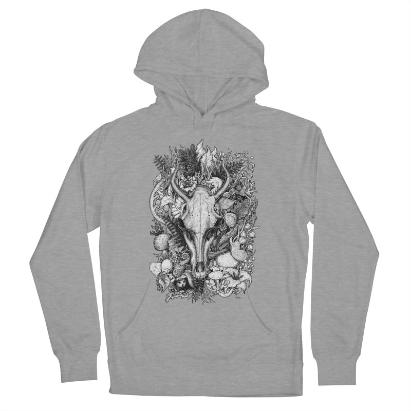 Life's Mystery Women's French Terry Pullover Hoody by Eugenia Hauss's | Exiled Beauty
