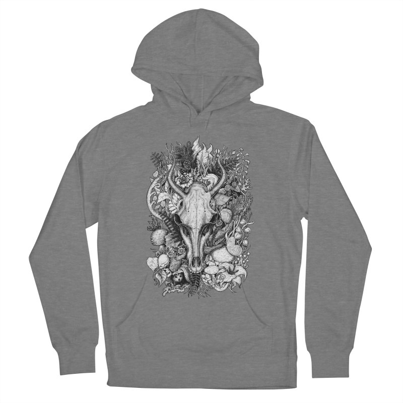 Life's Mystery Men's French Terry Pullover Hoody by Eugenia Hauss's | Exiled Beauty
