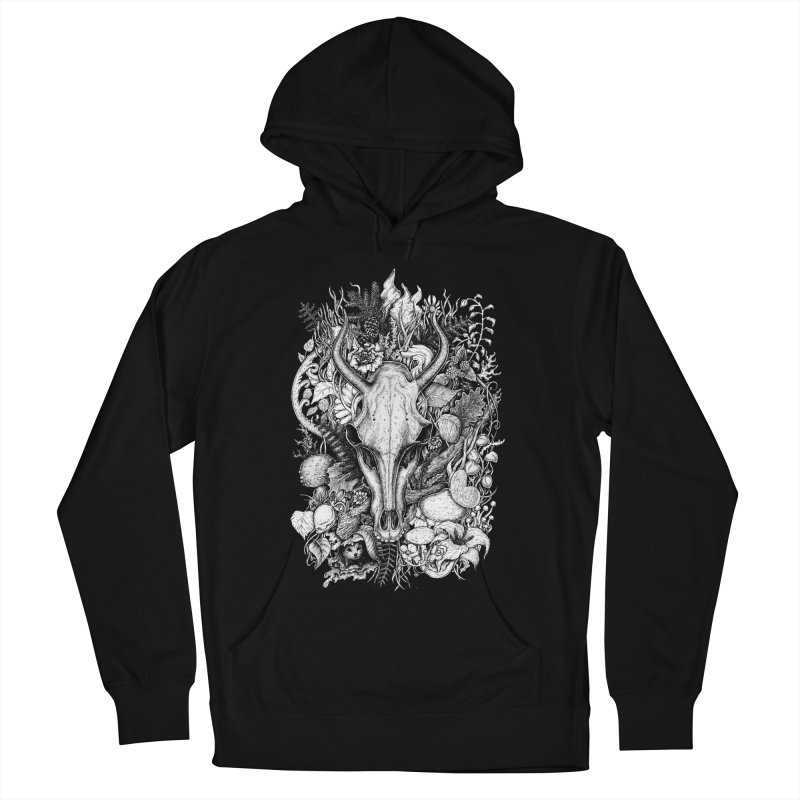 Life's Mystery Men's French Terry Pullover Hoody by Eugenia Hauss's   Exiled Beauty