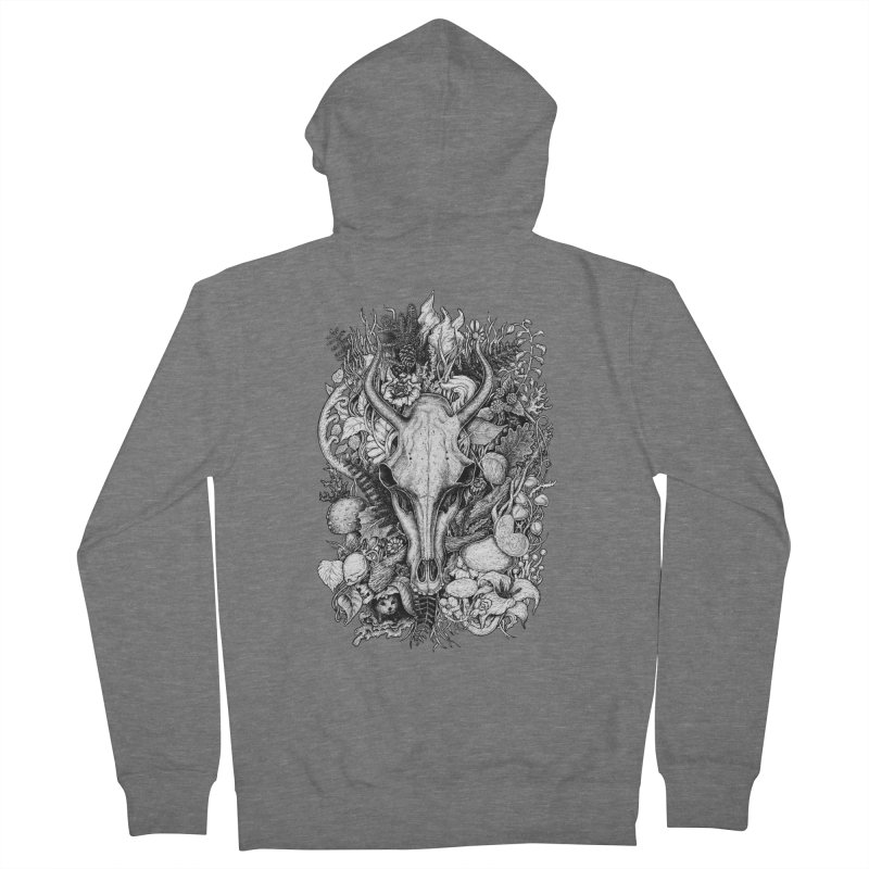 Life's Mystery Men's French Terry Zip-Up Hoody by Eugenia Hauss's | Exiled Beauty