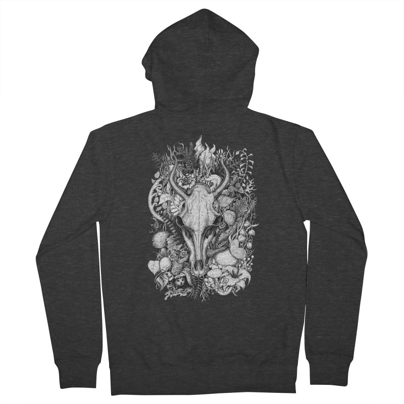 Life's Mystery Men's Zip-Up Hoody by Eugenia Hauss's | Exiled Beauty