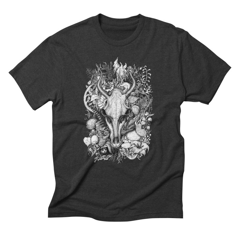 Life's Mystery Men's Triblend T-Shirt by Eugenia Hauss's | Exiled Beauty