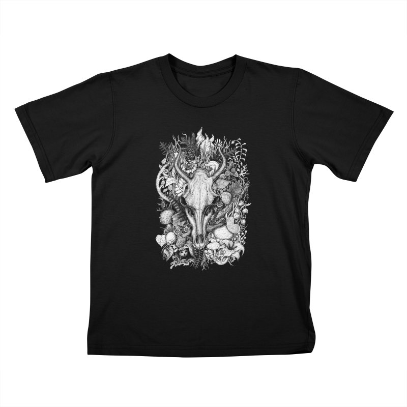 Life's Mystery Kids T-Shirt by Eugenia Hauss's | Exiled Beauty