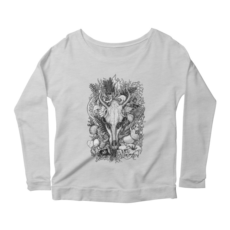 Life's Mystery Women's Longsleeve Scoopneck  by Eugenia Hauss's | Exiled Beauty