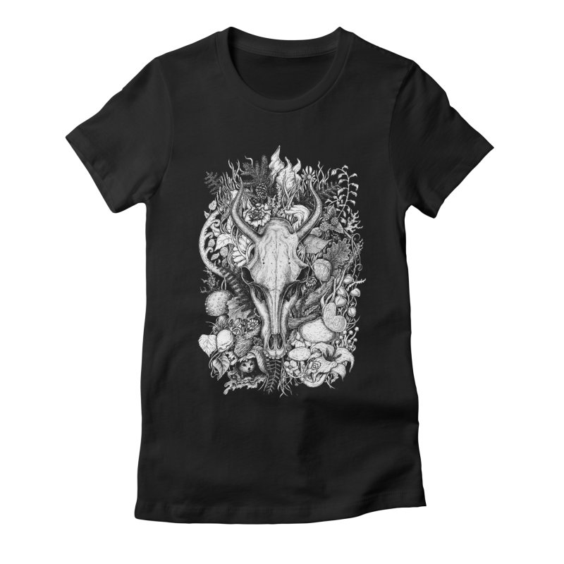 Life's Mystery Women's Fitted T-Shirt by Eugenia Hauss's | Exiled Beauty