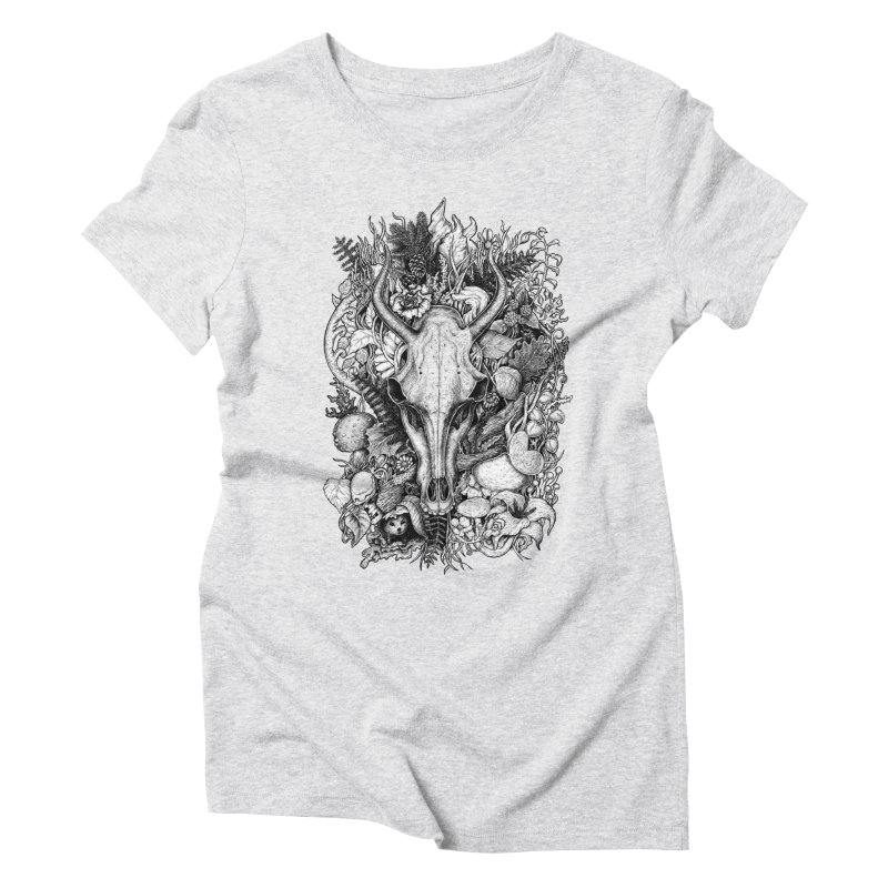 Life's Mystery Women's Triblend T-shirt by Eugenia Hauss's | Exiled Beauty