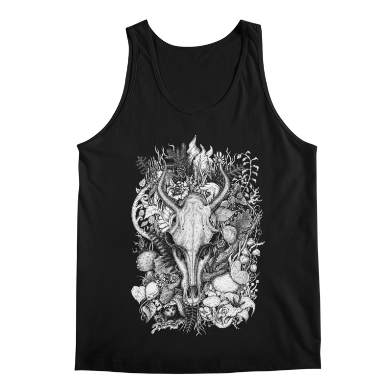 Life's Mystery Men's Regular Tank by Eugenia Hauss's | Exiled Beauty