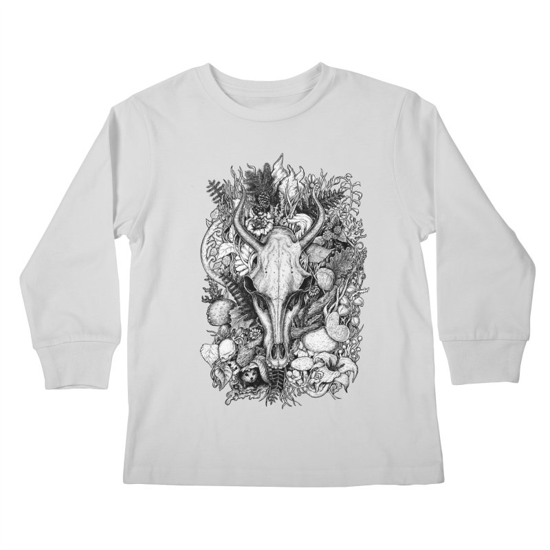 Life's Mystery Kids Longsleeve T-Shirt by Eugenia Hauss's | Exiled Beauty