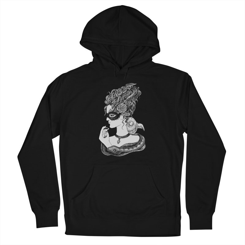 No Time To Waste Women's French Terry Pullover Hoody by Eugenia Hauss's | Exiled Beauty