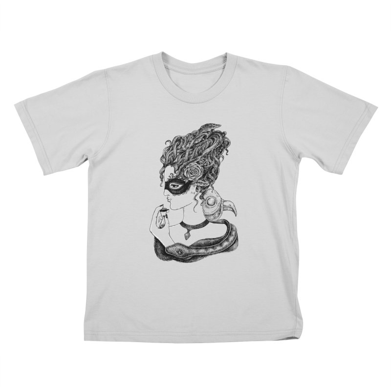 No Time To Waste Kids T-Shirt by Eugenia Hauss's | Exiled Beauty