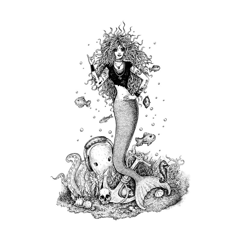 Rocking Mermaid by Eugenia Hauss's | Exiled Beauty
