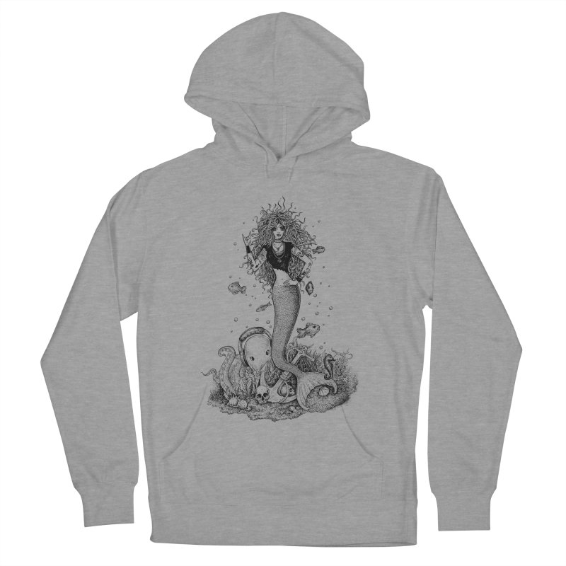 Rocking Mermaid Women's Pullover Hoody by Eugenia Hauss's | Exiled Beauty
