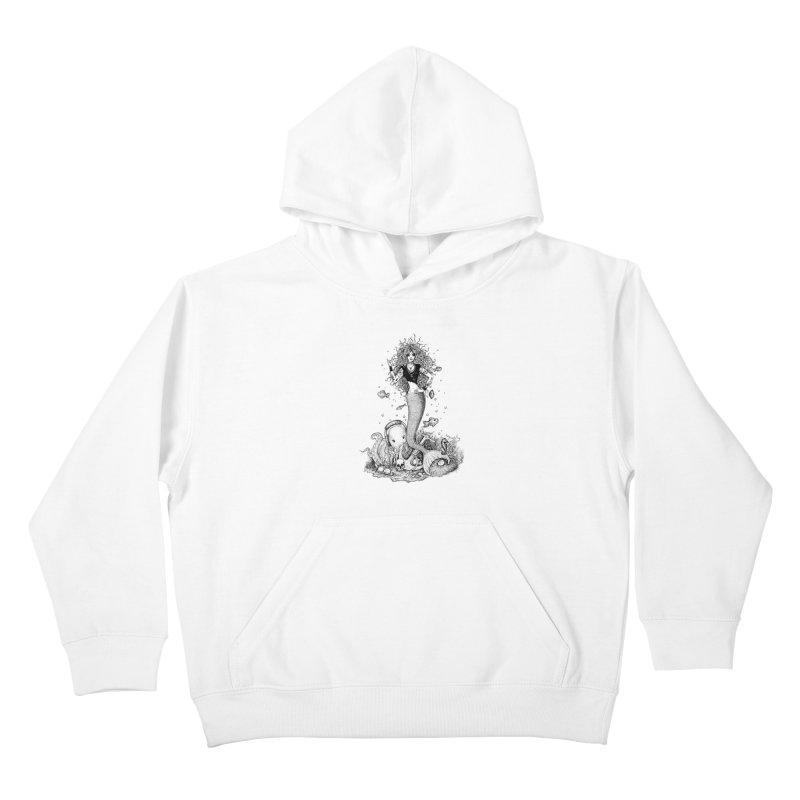 Rocking Mermaid Kids Pullover Hoody by Eugenia Hauss's   Exiled Beauty
