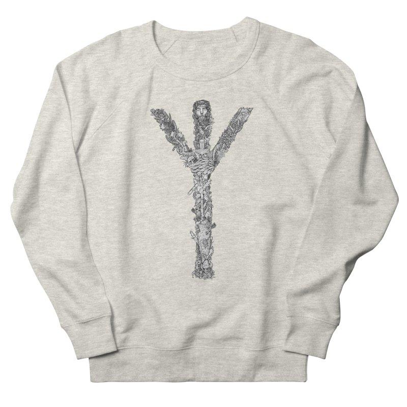 Algiz Women's Sweatshirt by Eugenia Hauss's | Exiled Beauty