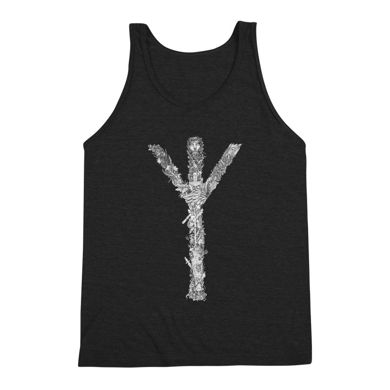 Algiz Men's Tank by Eugenia Hauss's | Exiled Beauty