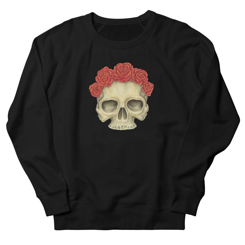 Skull And Roses Men's  by Eugenia Hauss's   Exiled Beauty