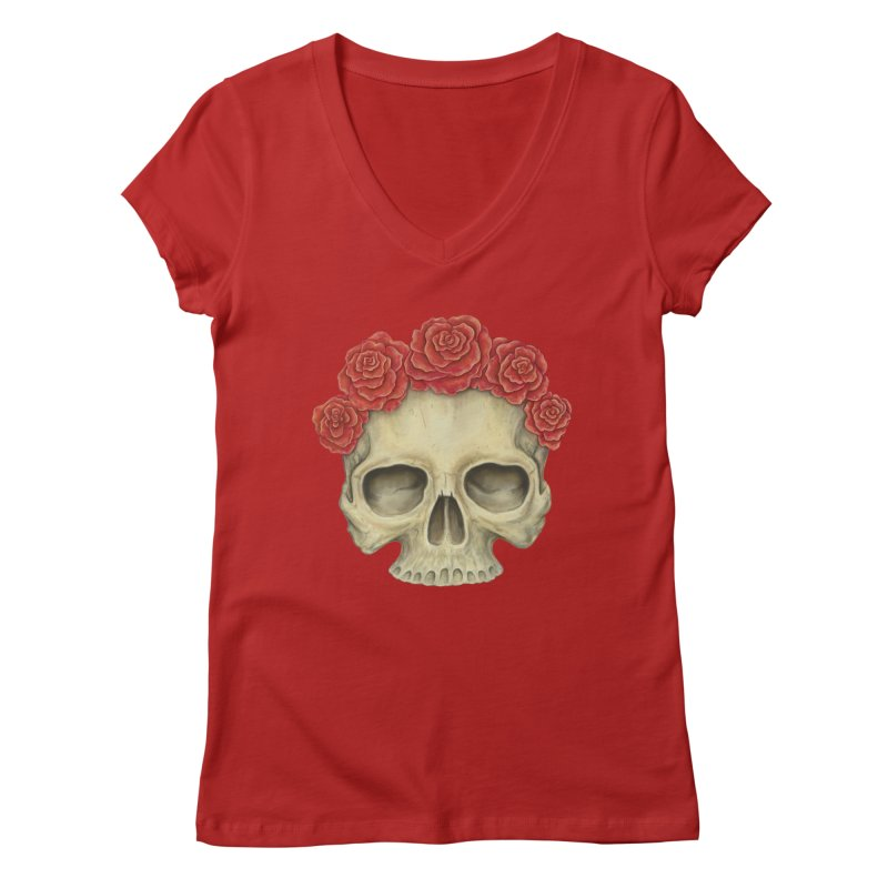 Skull And Roses   by Eugenia Hauss's | Exiled Beauty