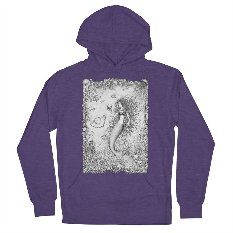 Underwater Fantasy Men's Pullover Hoody by Eugenia Hauss's | Exiled Beauty