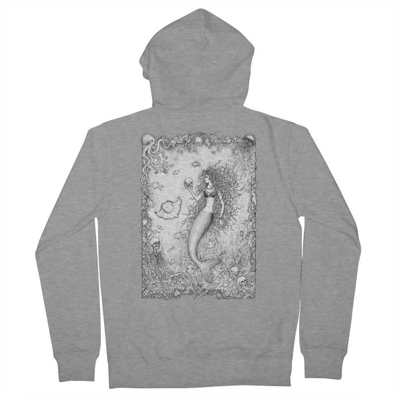 Underwater Fantasy Men's Zip-Up Hoody by Eugenia Hauss's | Exiled Beauty