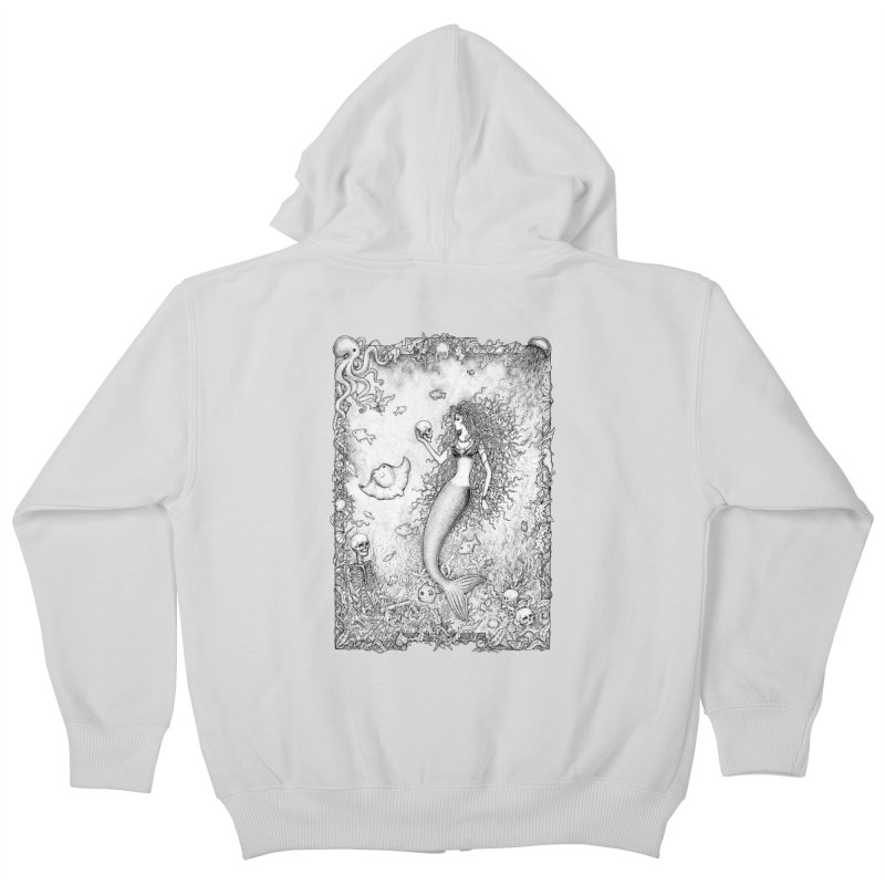 Underwater Fantasy Kids Zip-Up Hoody by Eugenia Hauss's | Exiled Beauty