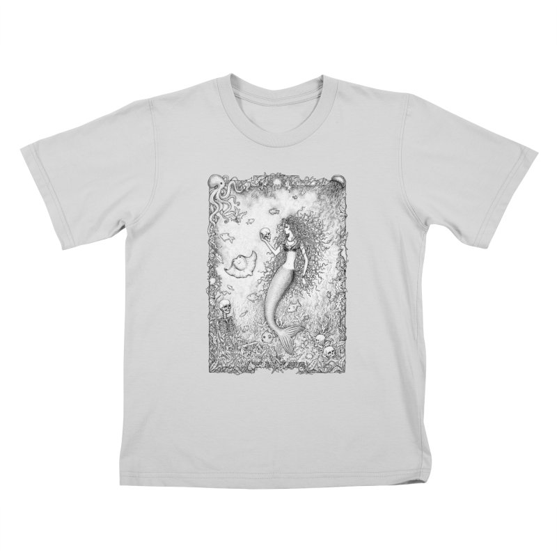 Underwater Fantasy Kids T-Shirt by Eugenia Hauss's | Exiled Beauty