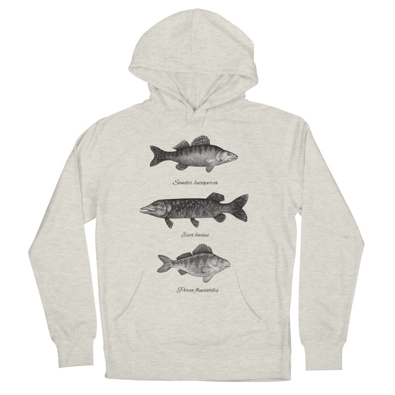 Zander, Pike And Perch Women's Pullover Hoody by Eugenia Hauss's | Exiled Beauty