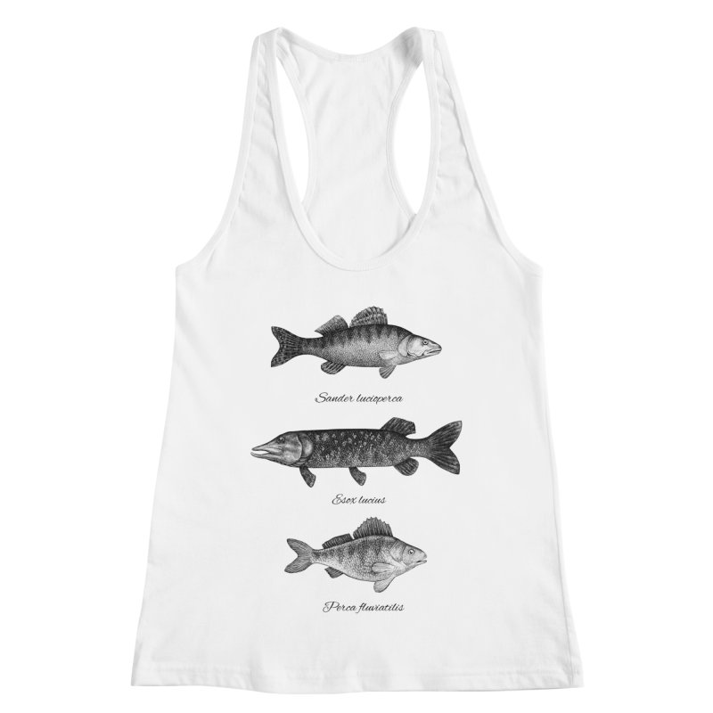 Zander, Pike And Perch Women's Tank by Eugenia Hauss's   Exiled Beauty