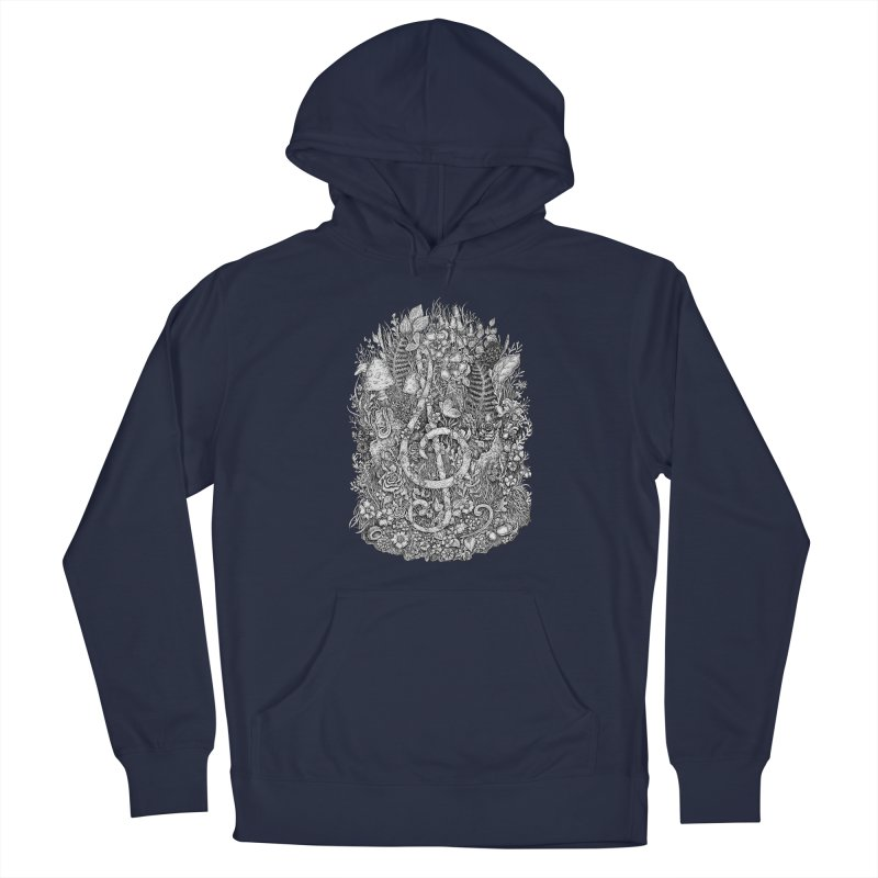 Music Men's Pullover Hoody by Eugenia Hauss's   Exiled Beauty