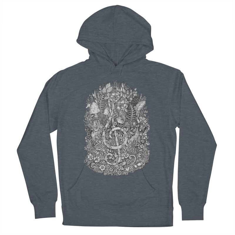 Music Men's French Terry Pullover Hoody by Eugenia Hauss's | Exiled Beauty