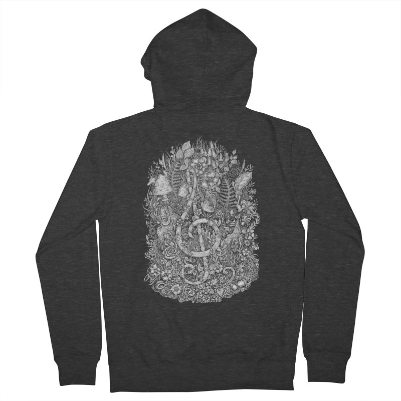 Music Men's Zip-Up Hoody by Eugenia Hauss's | Exiled Beauty