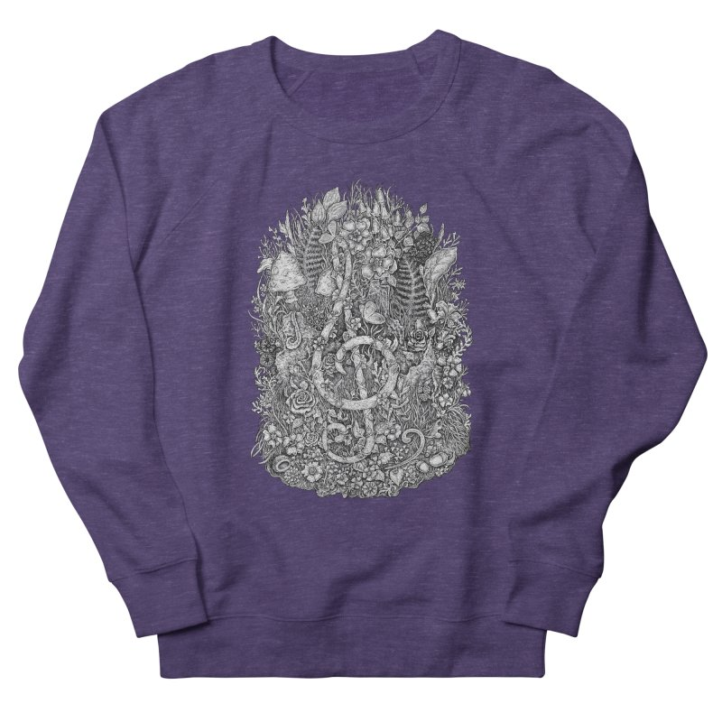 Music Women's French Terry Sweatshirt by Eugenia Hauss's | Exiled Beauty