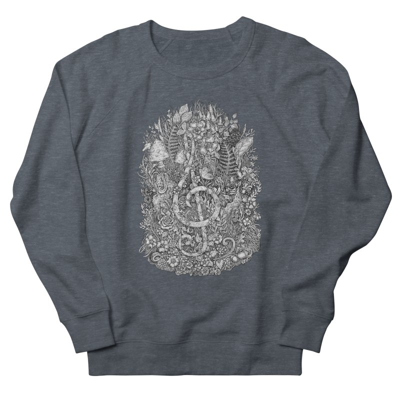 Music Men's French Terry Sweatshirt by Eugenia Hauss's | Exiled Beauty