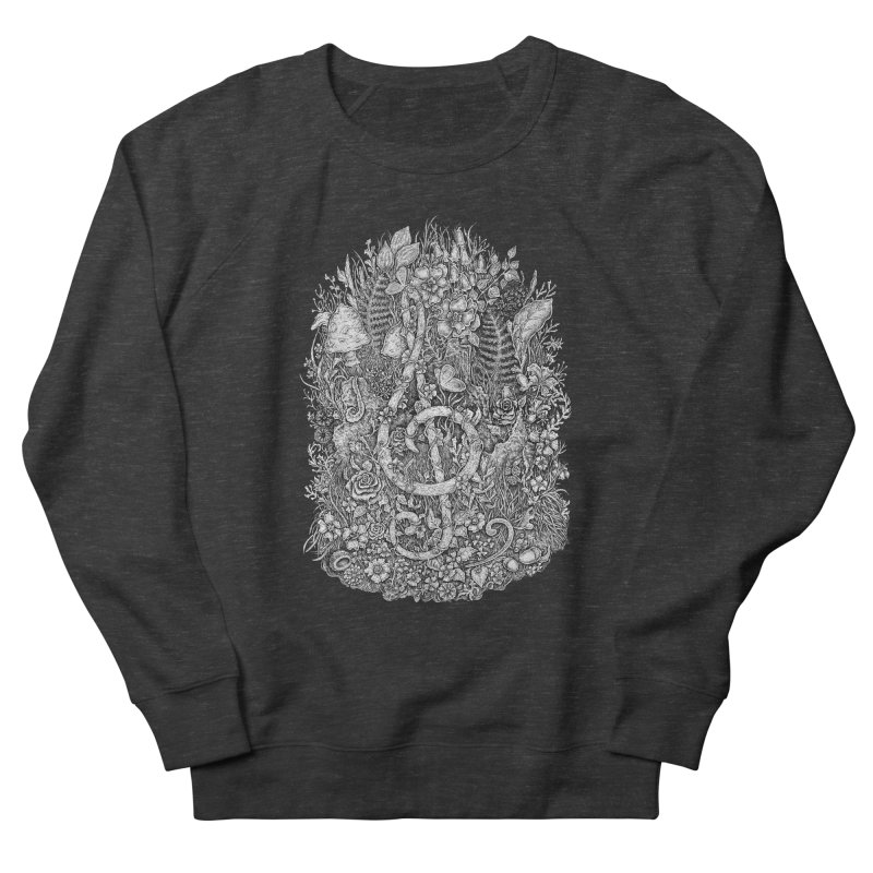 Music Men's French Terry Sweatshirt by Eugenia Hauss's   Exiled Beauty