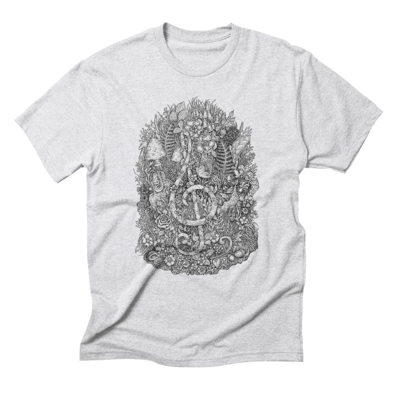 Music Men's Triblend T-Shirt by Eugenia Hauss's | Exiled Beauty