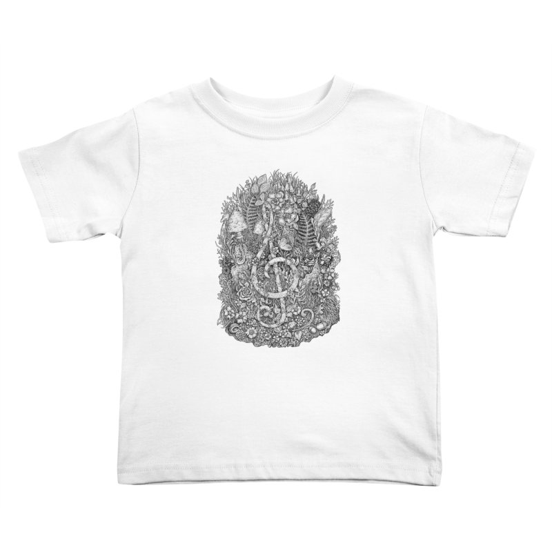 Music Kids Toddler T-Shirt by Eugenia Hauss's | Exiled Beauty