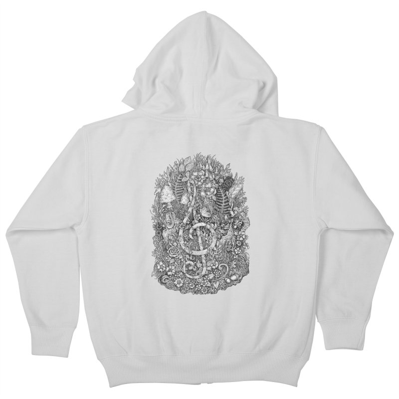 Music Kids Zip-Up Hoody by Eugenia Hauss's | Exiled Beauty