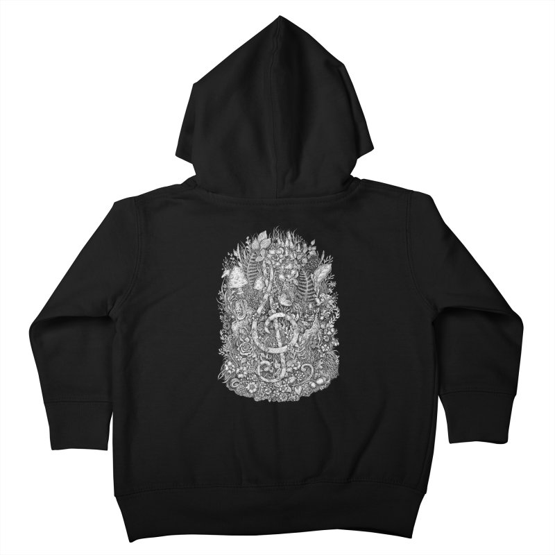 Music Kids Toddler Zip-Up Hoody by Eugenia Hauss's | Exiled Beauty