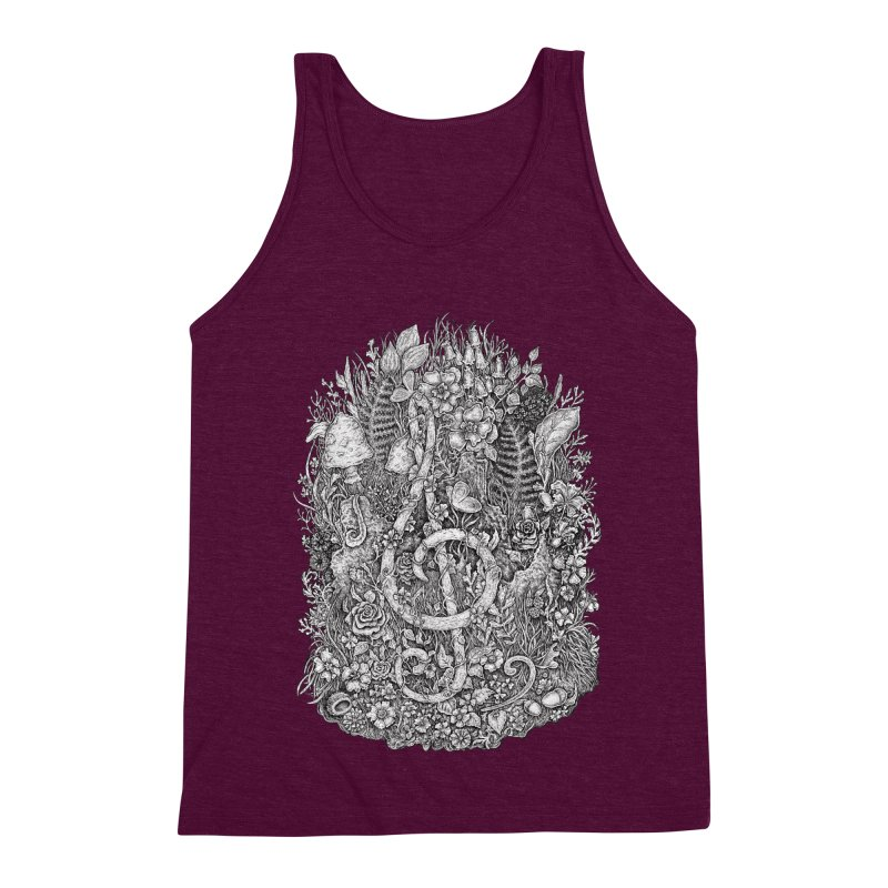 Music Men's Triblend Tank by Eugenia Hauss's | Exiled Beauty
