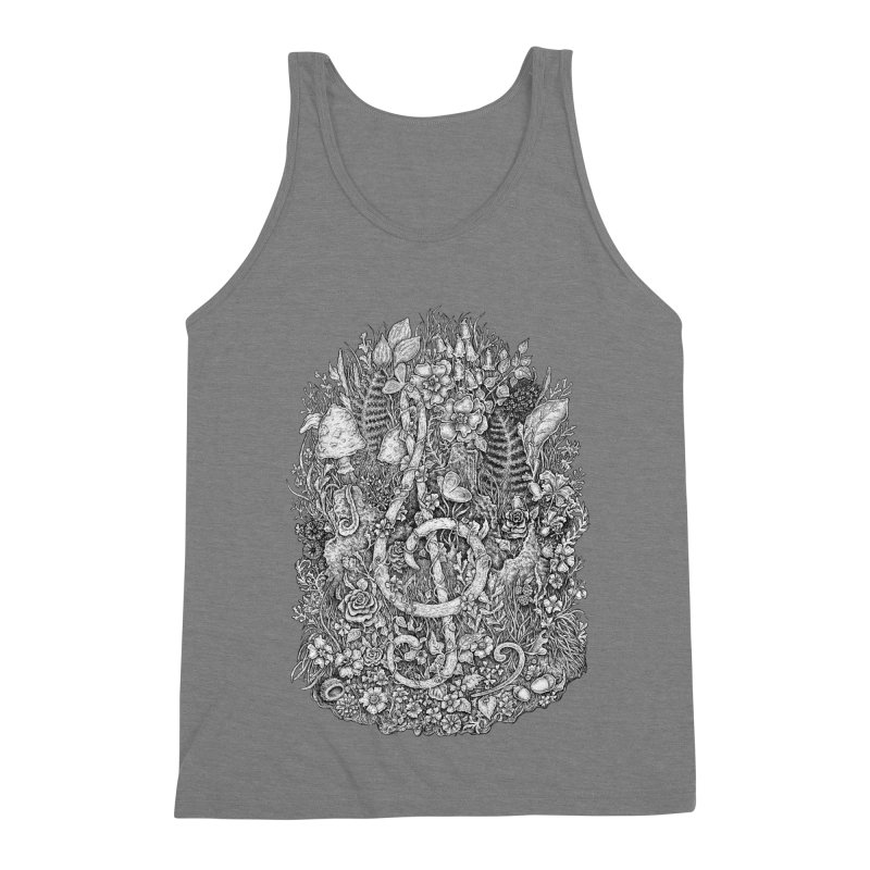 Music Men's Triblend Tank by Eugenia Hauss's   Exiled Beauty