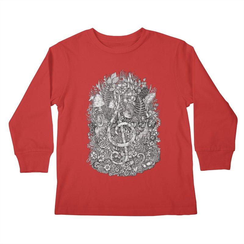 Music Kids Longsleeve T-Shirt by Eugenia Hauss's | Exiled Beauty