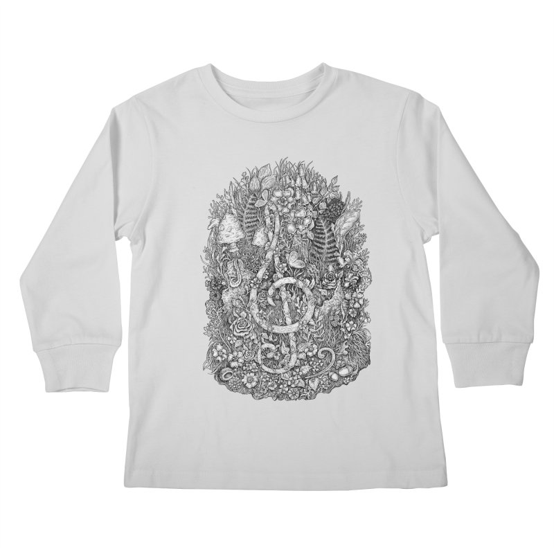 Music Kids Longsleeve T-Shirt by Eugenia Hauss's | Exiled Beauty