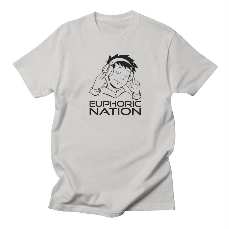 Euphoric Nation Logo Men's T-Shirt by Euphoric Nation's Merch!