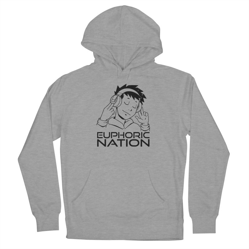 Euphoric Nation Logo Women's French Terry Pullover Hoody by Euphoric Nation's Merch!