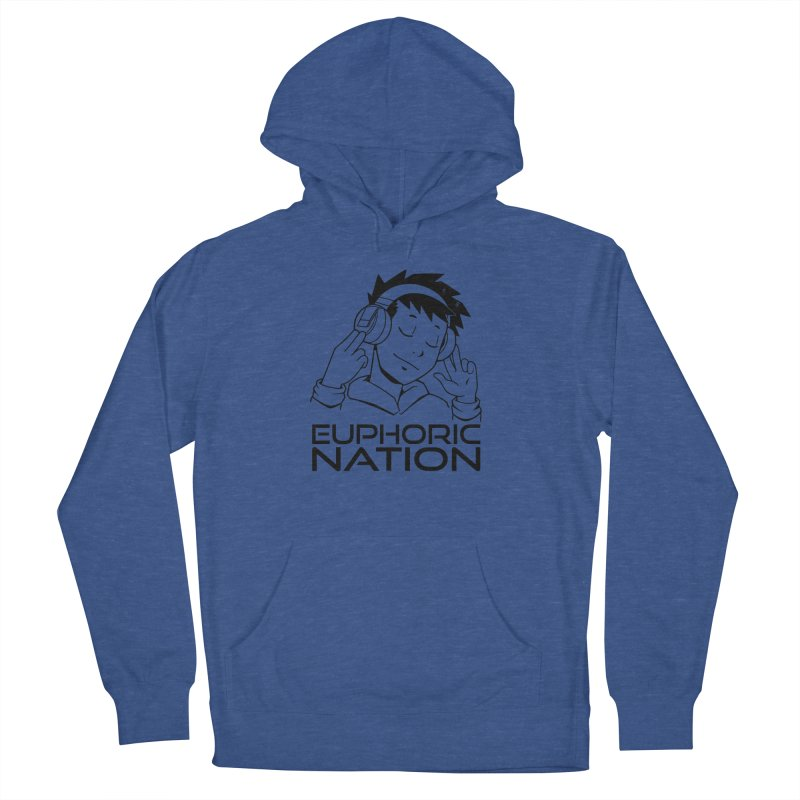 Euphoric Nation Logo Men's French Terry Pullover Hoody by Euphoric Nation's Merch!
